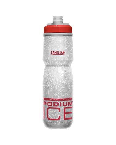Camelbak Podium Ice Insulated 620 ml/21oz Borraccia Termica, Fiery Red