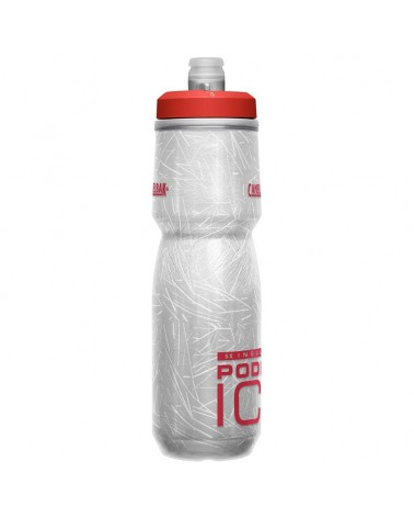 Camelbak Podium Ice Insulated 620 ml/21oz Water Bottle, Fiery Red