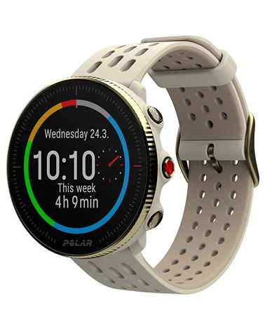 Polar A370 Smartwatch Fitness Tracker HR, White Taglia S