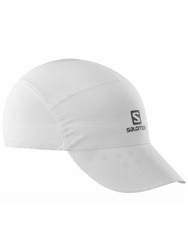 Salomon XA Compact Cap Cappello, White/White (Taglia Unica)