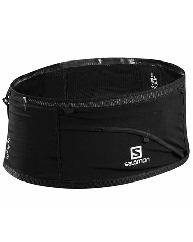 Salomon Sense Pro Belt Cintura Running Portadocumenti, Black