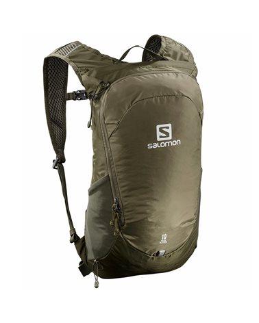 Salomon Trailblazer 10 Hiking Backpack 10 Liters, Martini Olive/Olive Night/Ebony
