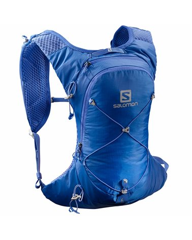 Salomon XT 6 Compatible Hydration Backpack 6 Liters, Nebulas Blue/Alloy