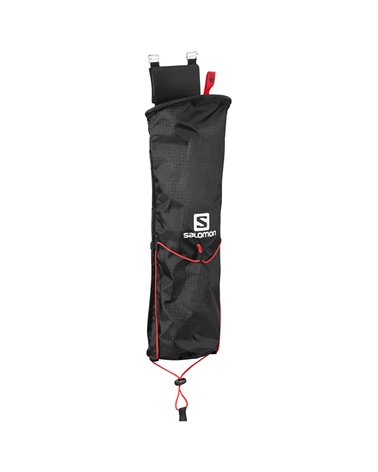 Salomon Custom Quiver Sacca Porta Bastoncini Zaini Hiking/Trekking, Black
