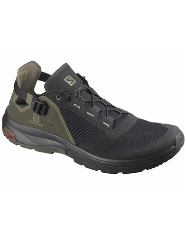 Salomon Tech Amphib 4 Scarpe Uomo, Black/Beluga/Castor Gray