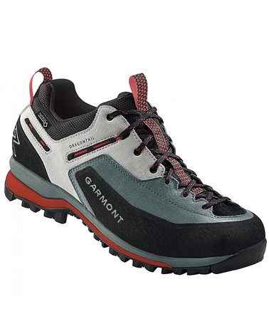 Garmont Dragontail Tech GTX Gore-Tex Men's Trekking Shoes, Grey/Red