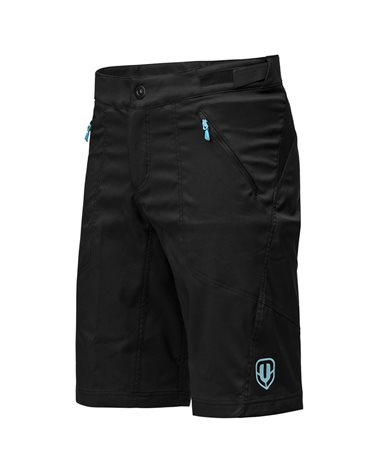 Mondraker - Troy Lee Designs Skyline Men's MTB Inner Padded Tight Shorts, Black
