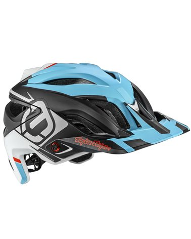Mondraker - Troy Lee Designs A3 MIPS Helmet, Blue/White/Black/Grey