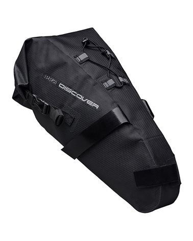 Pro Gravel Discover Team Waterproof Saddle Bag 7 Liters, Black