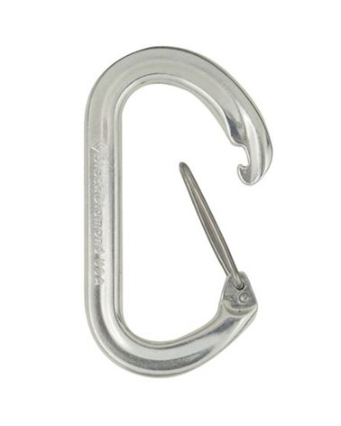 Black Diamond Ovalwire Biner, Silver
