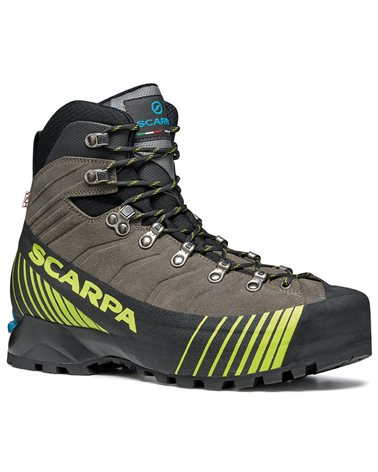 Scarpa Ribelle HD Men's Mountaineering Boots, Titanium/Lime