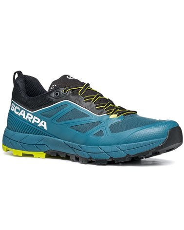 Scarpa Rapid Men's Trail Running/Approach Shoes, Blue/Acid Lime