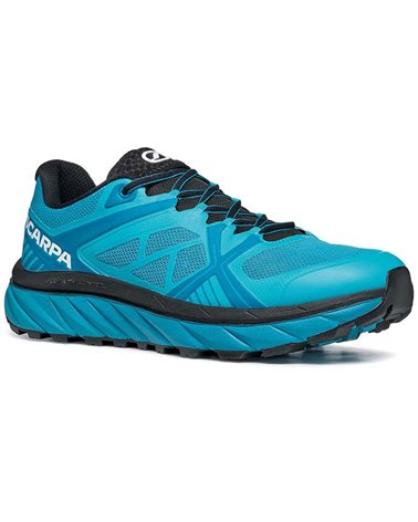 Scarpa Spin Infinity Men's Trail Running Shoes, Azure/Ottanio