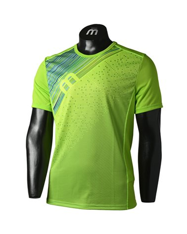 Mico X-Performance Run Men's Round Neck Short Sleeve Baselayer, Green