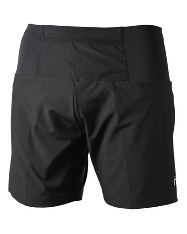 Mico X-Performance Trail Run Pantaloncini con Slip Interno Uomo, Nero