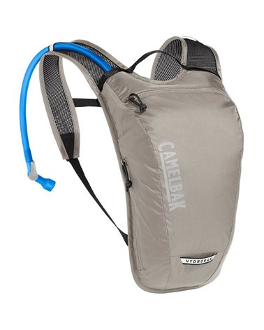 Camelbak Hydrobak Light 2.5 Liters Cycling Hydration Pack, Aluminum/Black (1.5 Liters Crux Reservoir Included)