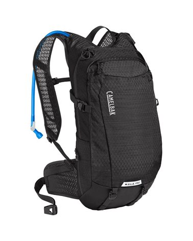 Camelbak M.U.L.E. Pro 14 Liters Cycling Hydration Pack, Black (3 Liters Crux Reservoir Included)