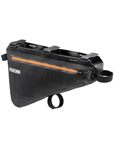 Ortlieb Frame-Pack F9974 Borsa Tubo Orizzontale 6 Litri, Nero Opaco