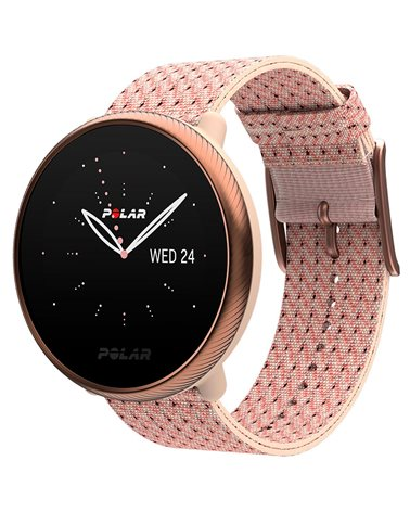Polar Ignite 2 GPS Fitness Watch Wrist-Based HR, Rose Gold/Pink