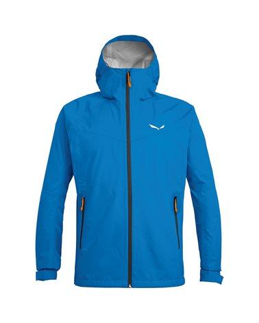Salewa Puez (Aqua 3) PTX Powertex Waterproof Men's Jacket, Cloisonne/0910