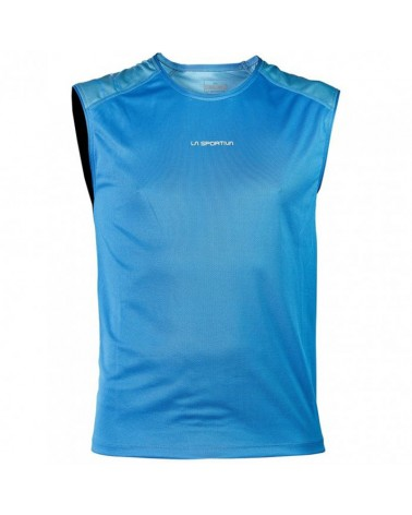 La Sportiva Peak Tank Men's Running Tank, Blue