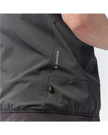 Salewa Sorapis Durastretch Windproof/Waterproof Men's Alpine Trekking Vest, Black Out