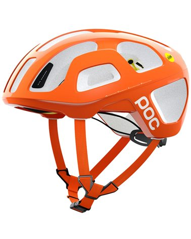 Poc Octal MIPS Road Cycling Helmet, Fluorescent Orange AVIP