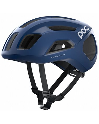 Poc Ventral Air Spin Road Cycling Helmet, Lead Blue Matt