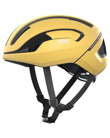 Poc Omne Air Spin Road Cycling Helmet, Sulfur Yellow Matt
