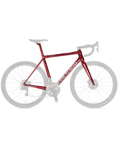 Colnago Kit Telaio C64 Disc - Forcella C64 Disc Carbon - RCRD Frozen Red