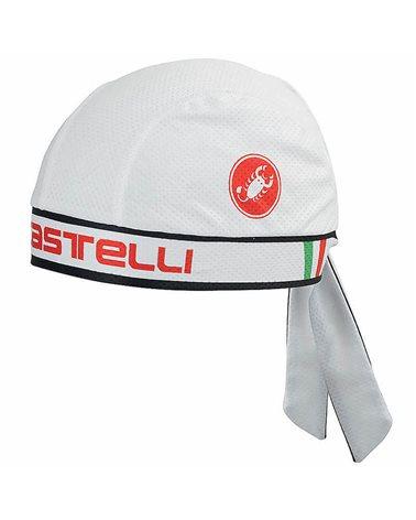 Castelli Bandana Ciclismo, Bianco (Taglia Unica)