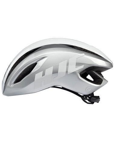 HJC Valeco Road Cycling Helmet, Silver White (Glossy)