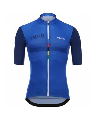 Santini La Dama Lugano 1953 Men's Short Sleeve Cycling Jersey