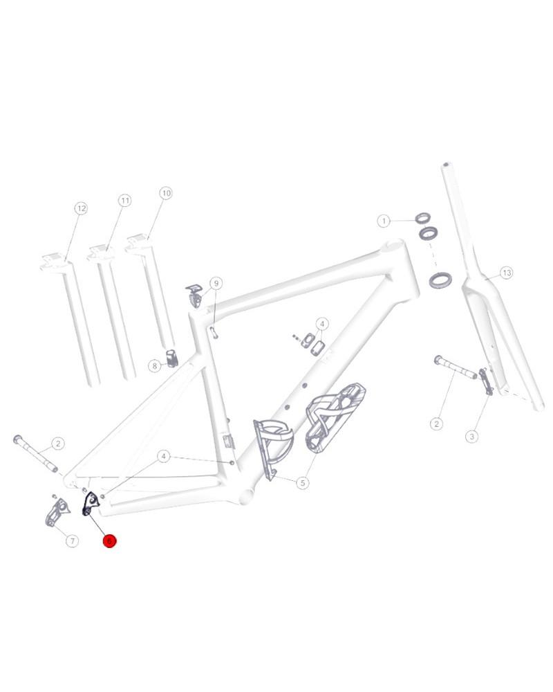 BMC Derailleur Hanger n.71 - 30000700