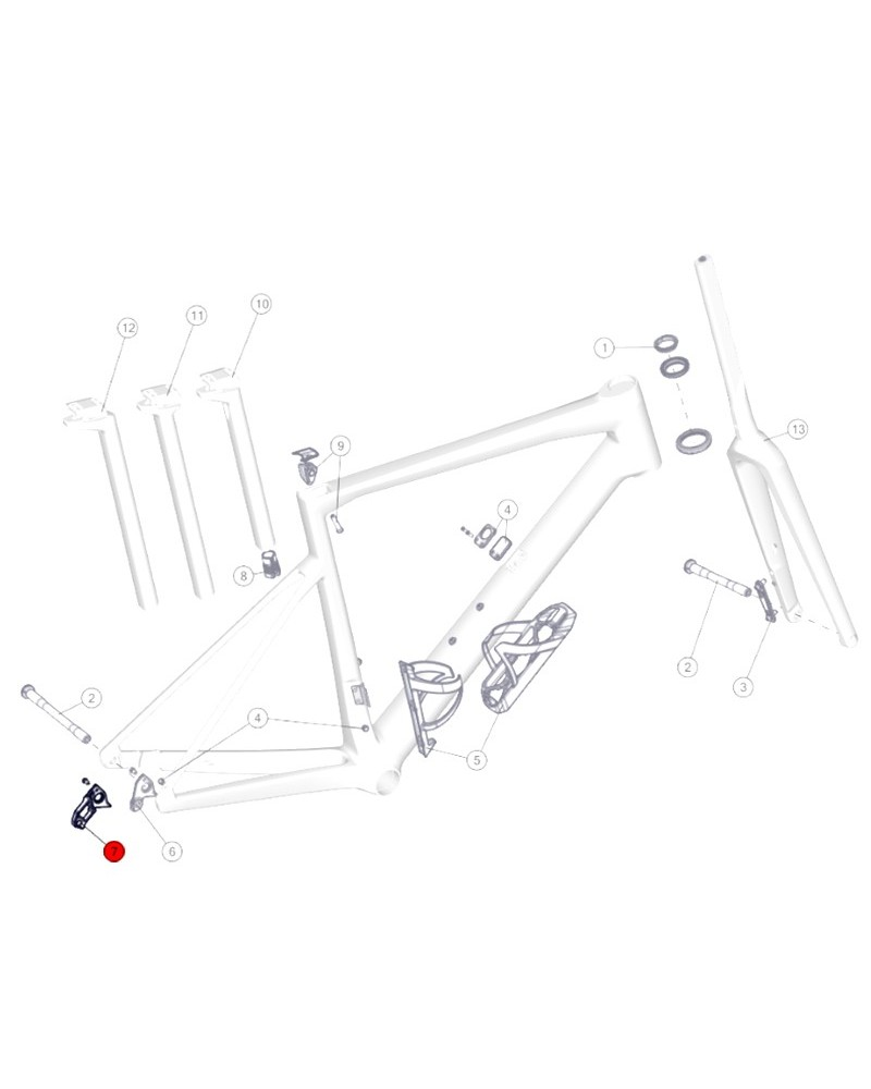 BMC Derailleur Hanger n.72 - 30000701