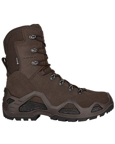 Lowa Z-8S HI C GTX Gore-Tex Men's Tactical Boots Suede Leather, Dark Brown