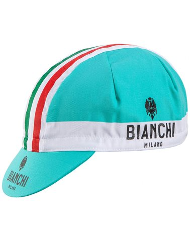 Bianchi Milano Neon Cycling Cap, Celeste Bianchi/BCO (One Size Fits All)