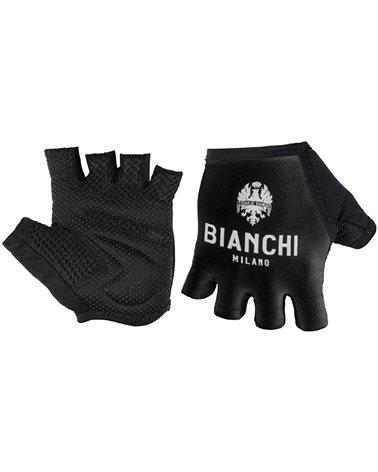 Bianchi Milano Divor1 Guanti Ciclismo, Nero