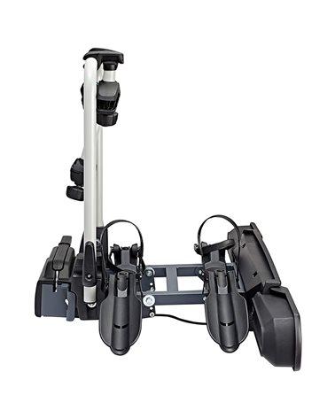 XLC Beluga VC-C03 13 Pin Plug Foldable Towbar Bike Rack, Black (2 e-Bikes)