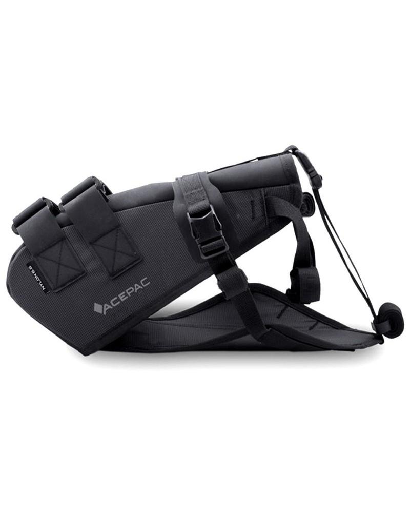 Acepac Saddle Harness Nylon 6.6 for Saddle Drybag, Black