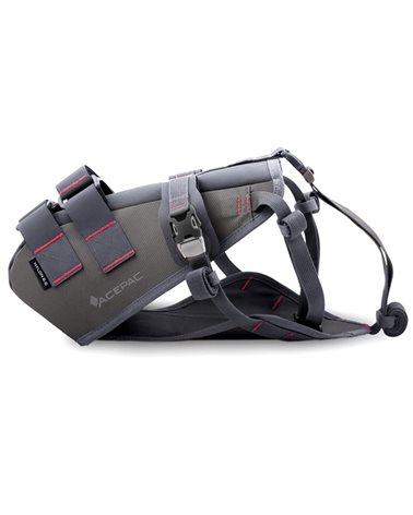 Acepac Saddle Harness Nylon 6.6 Imbracatura Borsa Sottosella Saddle Drybag, Grigio