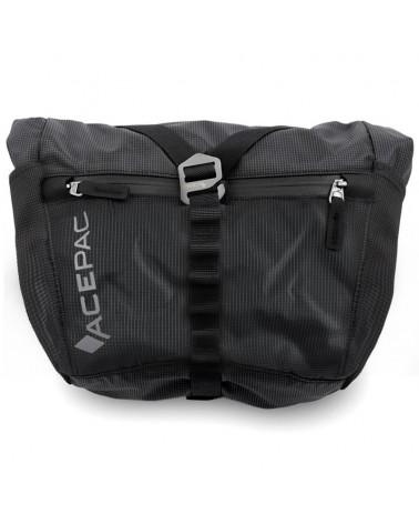 Acepac Bar Bag Nylon 6.6 5 Liters Compatible with Bar Roll/Bar Drybag, Black