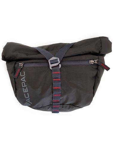 Acepac Bar Bag Nylon 6.6 Borsa Manubrio 5 Litri Compatibile con Bar Roll/Bar Drybag, Grigio