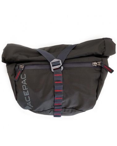 Acepac Bar Bag Nylon 6.6 5 Liters Compatible with Bar Roll/Bar Drybag, Grey