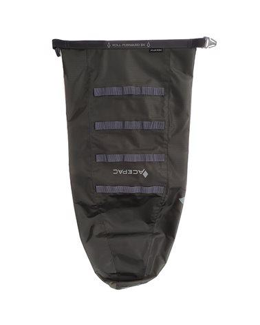 Acepac Saddle Drybag Nylon 6.6 Borsa Sottosella 16 Litri Impermeabile, Grigio
