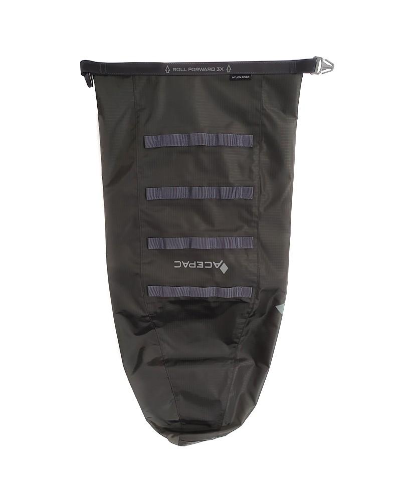 Acepac Saddle Drybag Nylon 6.6 16 Liters, Grey