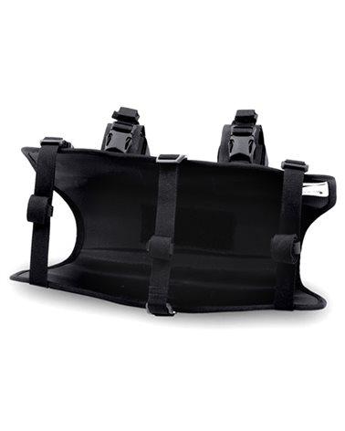 Acepac Bar Harness Nylon 6.6 Imbracatura Borsa Manubrio Bar Drybag, Nero