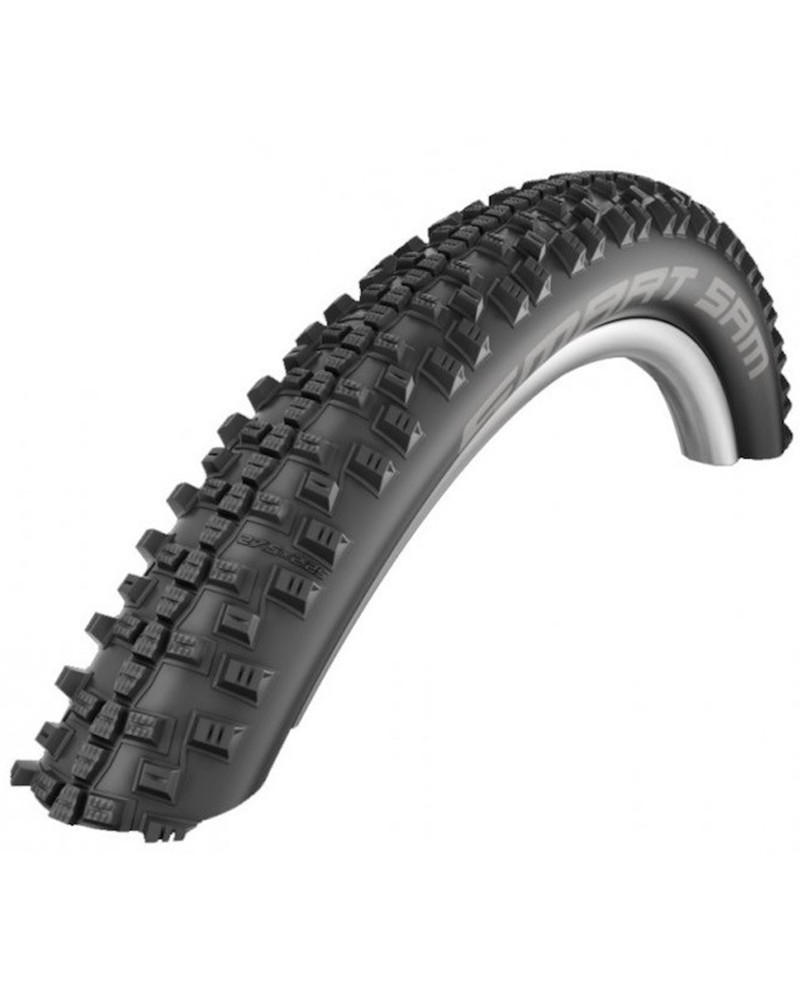 Schwalbe Smart Sam HS476 29x2.35 Performance Line Addix Tubeless Rigid Tyre, Nero/Classic-Skin