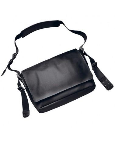 Brooks Barbican Messenger M Shoulder Bag Borsa a Tracolla Ciclismo 13 L, Black