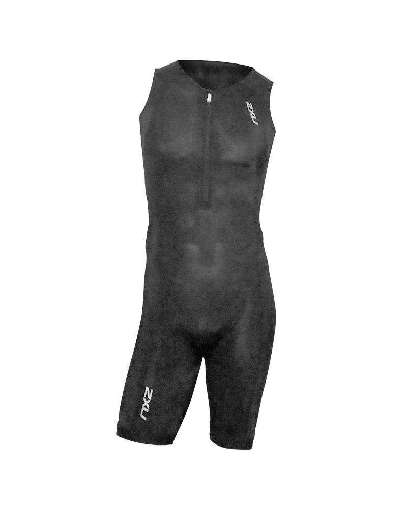 2XU Active Trisuit G2 Triathlon Suit Size S, Black/Black